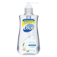 Dial Antibacterial Hand Soap with White Tea & Vitamin E