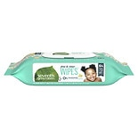 Seventh Generation Thick n' Strong Free & Clear Baby Wipes with Flip Top Dispenser