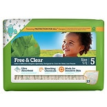 Seventh Generation Baby Free & Clear Diapers Stage 5, 27+ lbs