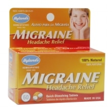 Hyland's Homeopathic Migraine Headache Relief Quick Dissolving Tablets