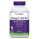 Natrol Omega-3 Fish Oil 1000 mg Dietary Supplement Softgels