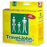 TravelJohn Disposable Urinal for Men, Women & Children