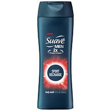 Suave for Men Body Wash Sport Recharge