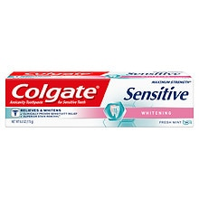 Colgate Sensitive Maximum Strength Sensitive Whitening Toothpaste