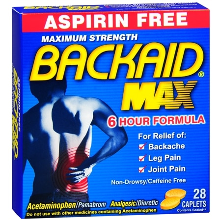 Backaid Maximum Strength Back Relief