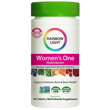 Rainbow Light Just Once Womens One Multivitamin/Mineral