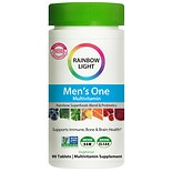 Rainbow Light Just Once Mens One Energy Multivitamin