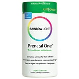 Rainbow Light Just Once Prenatal One Multivitamin Tablets