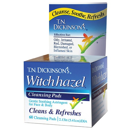 Hazelets Witch Hazel Pads
