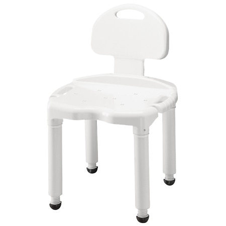 Apex Universal Bath Bench with Back