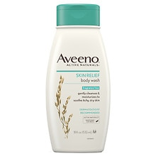 Aveeno Active Naturals Skin Relief Body Wash Fragrance Free