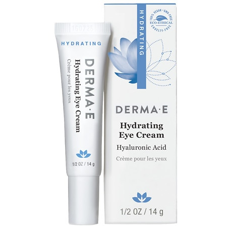 derma e Hydrating Eye Cream with Hyaluronic Acid and Pycnogenol