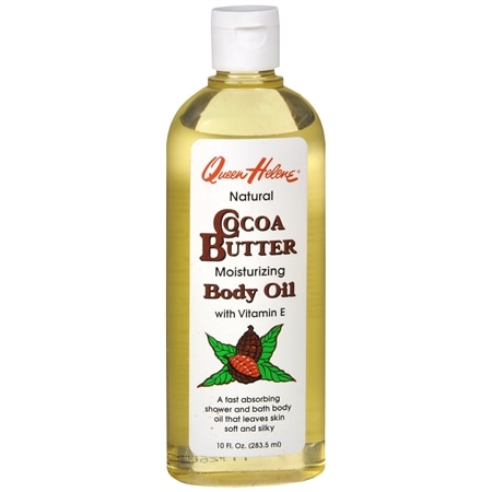 Queen Helene Natural Moisturizing Cocoa Butter Bath and Shower Body Oil
