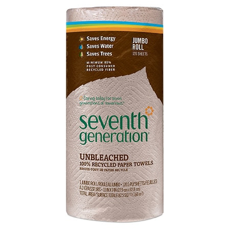 Seventh Generation Natural Paper Towels, Jumbo Roll