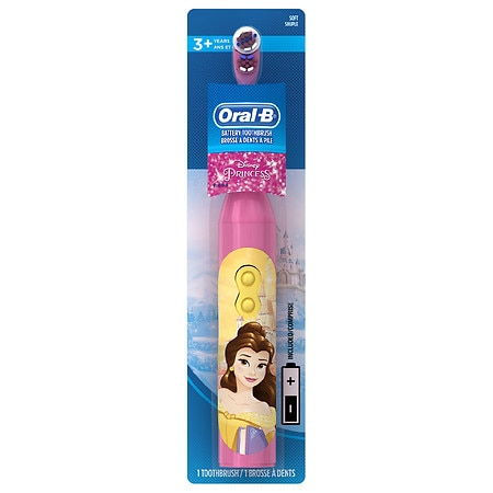 Oral-B Stages Toothbrush Princess, Battery Operated