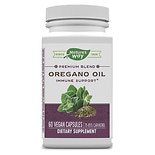 Nature's Way Standardized Oregano Oil, VCaps