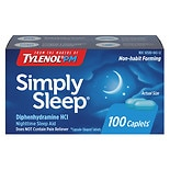 Simply Sleep Nighttime Sleep Aid Capsules