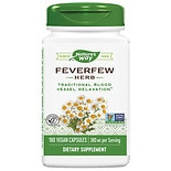 Nature's Way Feverfew Leaves 380 mg, Capsules