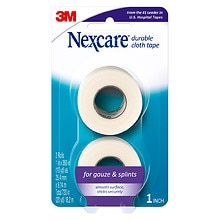 "Nexcare Durable Cloth Tape 1"" x 360"" Rolls"