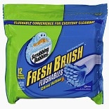Scrubbing Bubbles Fresh Brush Flushable Refills Toilet Cleaning System Citrus Action