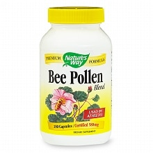 Nature's Way Bee Pollen Blend, Capsules