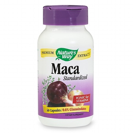Nature's Way Maca Dietary Supplement Capsules