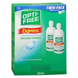 Express, Lasting Comfort No Rub, Multi-Purpose Disinfecting Solution Twin Pack