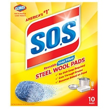 Steel Wool Soap Pads