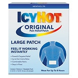 Icy Hot Medicated Patches Back and Large Areas