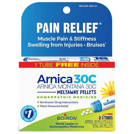 Boiron Arnica 30C Pellets Value Pack 3 pk
