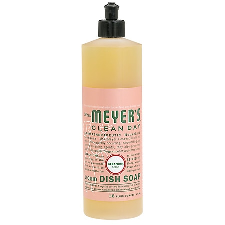 Mrs. Meyer's Clean Day Liquid Dish Soap Geranium