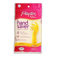Playtex HandSaver Latex Gloves Large