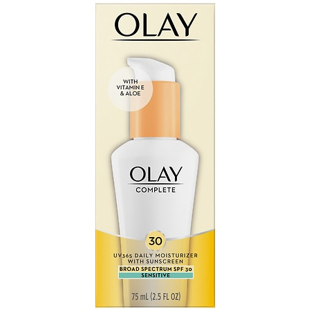 Olay Complete All Day Moisturizer with Broad Spectrum SPF 30, Sensitive