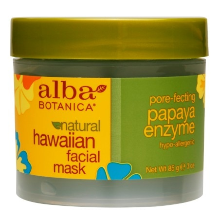 Alba Botanica Facial Mask Pore-fecting Papaya Enzyme