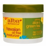 Oil-Free Moisturizer Cream Refining Aloe & Green Tea