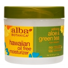 Alba Hawaiian Oil-Free Moisturizer Cream Refining Aloe & Green Tea