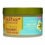 Alba Hawaiian Body Scrub Revitalizing Sea Salt