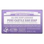 Dr. Bronner's All-One Hemp Pure-Castile Soap Bar Lavender
