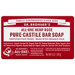 Dr. Bronner's All-One Hemp Pure-Castile Soap Bar Rose