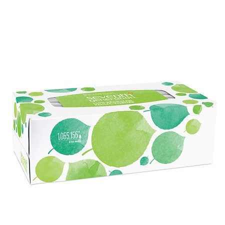 Seventh Generation Facial Tissues, 2-ply
