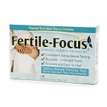 Fertile-Focus Saliva Ovulation Fertility Test