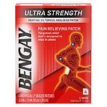 BenGay Ultra Strength Pain Relieving Patches