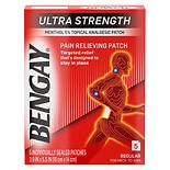 BenGay Ultra Strength Pain Relieving Patches Regular Size