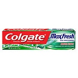 Colgate MaxFresh Whitening Fluoride Toothpaste with Mini Breath Strips Mint