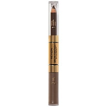 Brow Pencil & Gel, Dark Brown 106