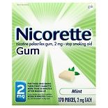 Nicorette Smoking Aid Gum Mint Mint