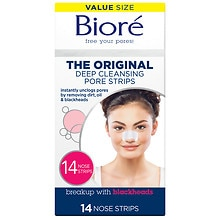 Biore Deep Cleansing Pore Strips Original