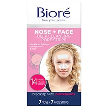 Biore Deep Cleansing Pore Strips Deep Cleansing Combo