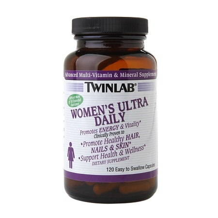 Twinlab Women's Ultra Daily Dietary Supplement Capsules