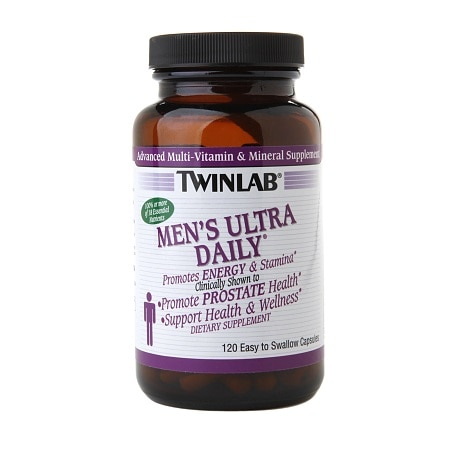 Twinlab Men's Ultra Daily Dietary Supplement Capsules